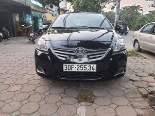 Cần bán Toyota Vios 2011, màu đen chính chủ, giá tốt