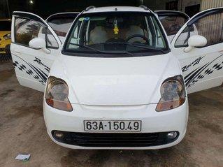 Bán xe Daewoo Matiz năm sản xuất 2008, màu trắng