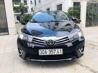 Cần bán gấp Toyota Corolla Altis 1.8G CVT đời 2015, màu đen chính chủ