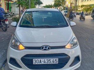 Cần bán gấp Hyundai Grand i10 đời 2014, màu trắng, nhập khẩu