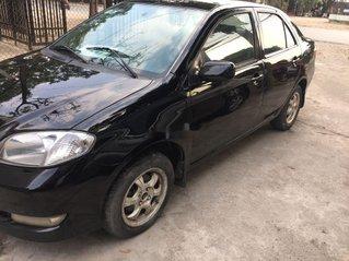 Cần bán gấp Toyota Vios đời 2005, màu đen chính chủ, 128tr