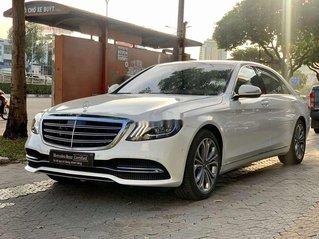 Chính chủ bán ô tô Mercedes S450 Luxury đời 2020, màu trắng, siêu lướt
