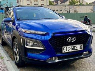 Cần bán Hyundai Kona sản xuất 2018, màu xanh lam, nhập khẩu nguyên chiếc