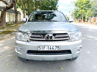 Cần bán xe Toyota Fortuner năm sản xuất 2009, màu bạc còn mới, 425tr