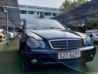 Cần bán Mercedes-Benz C class C180 màu xanh, sx năm 2002