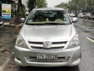 Cần bán nhanh chiếc Toyota Innova đời 2008, màu bạc giá cạnh tranh
