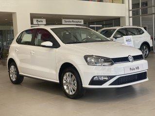 Volkswagen Polo Hatchback 2020 màu trắng - Khuyến mãi giá tốt - Vay 80% ngân hàng - Xe Đức nhập khẩu.