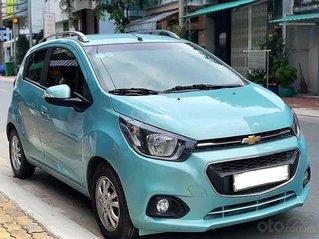 Bán Chevrolet Spark sản xuất năm 2018, màu xanh lam còn mới, giá 268tr