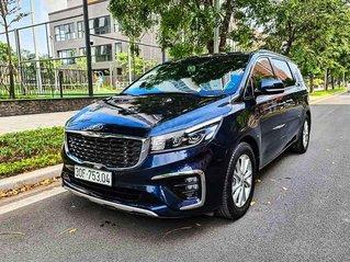 Bán ô tô Kia Sedona sản xuất năm 2019, màu xanh lam còn mới