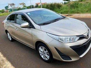 Bán Toyota Vios E sản xuất năm 2018, màu vàng cát