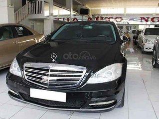 Bán lại xe Mercedes S550 năm sản xuất 2007, màu đen, xe nhập, giá chỉ 800 triệu
