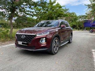 Xe Hyundai Santa Fe đời 2019, màu đỏ nhập khẩu nguyên chiếc. Giá chỉ 1 tỷ 188 triệu đồng