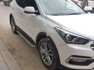 Cần bán lại xe Hyundai Santa Fe đời 2017, màu trắng còn mới, 935tr
