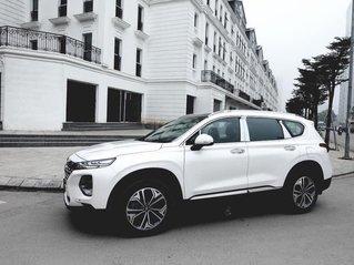 Giá xe SantaFe 2020, ưu đãi 100% thuế trước bạ, xe có sẵn giao ngay