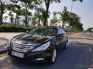 Bán Hyundai Sonata Y20 2.0 AT năm 2010, màu đen, nhập khẩu