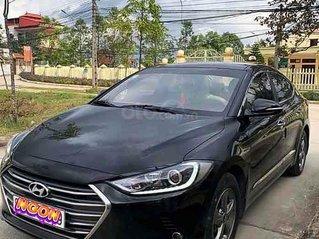 Bán ô tô Hyundai Elantra sản xuất năm 2017, màu đen, giá 438tr