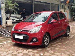 Cần bán Hyundai Grand i10 2016, màu đỏ, nhập khẩu nguyên chiếc số tự động, 355tr