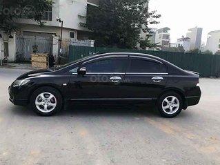Cần bán lại xe Honda Civic sản xuất 2010, màu đen