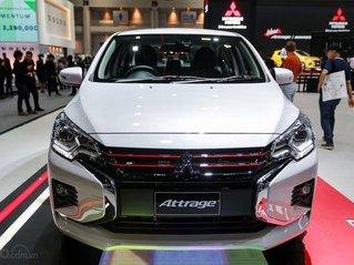 [Hot] Bán xe Mitsubishi Attrage 2020 mới hỗ trợ thuế trước bạ siêu hấp dẫn, đủ màu sẵn xe giao ngay