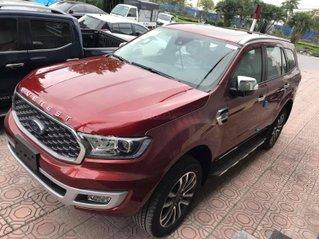 Ford Everest Titanium 1 cầu số tự động 2021, tổng giảm giá lên đến 80 triệu, tặng phụ kiện chính hãng