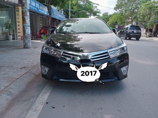 Bán Toyota Corolla Altis đời 2017, màu đen, 655tr