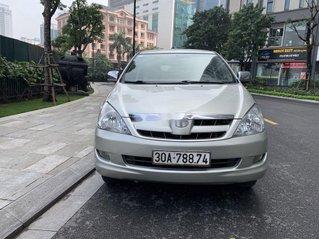 Cần bán Toyota Innova đời 2008, màu bạc