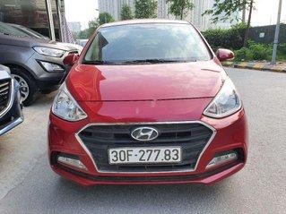 Bán xe Hyundai Grand i10 sản xuất 2018, màu đỏ chính chủ, giá tốt