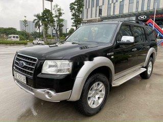 Cần bán xe Ford Everest đời 2008, màu đen, nhập khẩu còn mới, 325tr
