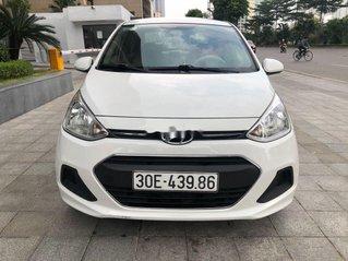 Xe Hyundai Grand i10 đời 2017, màu trắng, xe nhập chính chủ