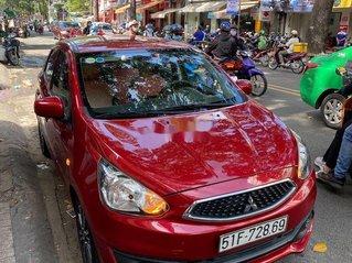 Cần bán gấp Mitsubishi Mirage đời 2016, màu đỏ, xe nhập còn mới