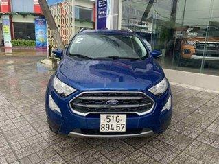 Xe Ford EcoSport năm 2018, màu xanh lam, nhập khẩu