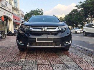 Cần bán Honda CR V năm sản xuất 2018, màu đen còn mới