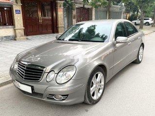Cần bán xe Mercedes E200 Kompressor đời 2008, màu bạc