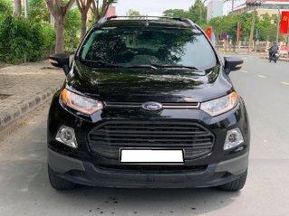 Cần bán lại xe Ford EcoSport sản xuất 2014, màu đen như mới, giá 376tr