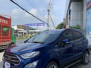 Bán xe Ford EcoSport đời 2018, màu xanh lam