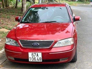 Cần bán xe Ford Mondeo năm sản xuất 2003, màu đỏ, giá chỉ 145 triệu