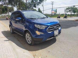Cần bán lại xe Ford EcoSport năm 2018, màu xanh lam