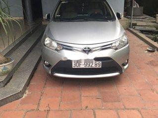 Xe Toyota Vios sản xuất năm 2016, màu bạc, giá tốt