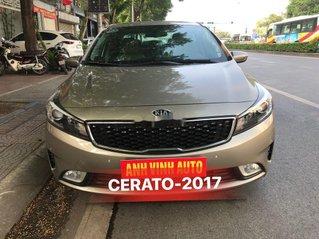 Cần bán lại xe Kia Cerato sản xuất 2017, full option