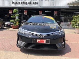 Cần bán Altis 1.8G CVT 2019 đen biển số Sài Gòn đẹp