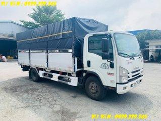 Xe tải Isuzu Nqr75le4 - NQR75me4 - NQR550 thùng bạt phiên bảng 7 bửng - xe mới chính hãng 2020 - 2021 - đóng kèo Dalat