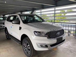 Bán Ford Everest Titanium 2.0L 4x2 năm 2020, màu trắng, xe nhập