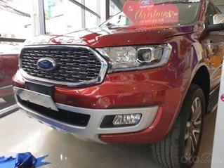 Bán xe Ford Everest Titanium 4WD năm 2020, màu đỏ, nhập khẩu nguyên chiếc