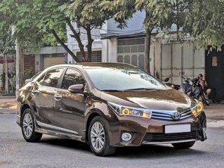 Cần bán nhanh chiếc Toyota Corolla Altis sản xuất năm 2014, màu nâu