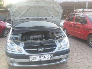 Xe Hyundai Getz đời 2010, màu bạc còn mới