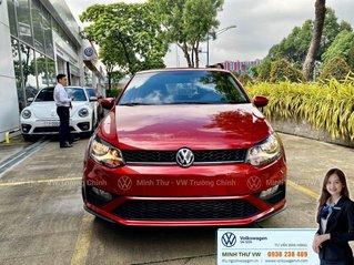 Xe Polo Hatchback 2020 màu đỏ Sunset - nhập khẩu nguyên chiếc 100% - thêm option giá không đổi