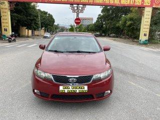 Kia Forte SX 1.6AT cuối 2011, màu đỏ, tự động, nhập khẩu nguyên chiếc. Bản full option bóng khí