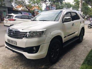 Cần bán lại xe Toyota Fortuner sản xuất 2015, màu trắng