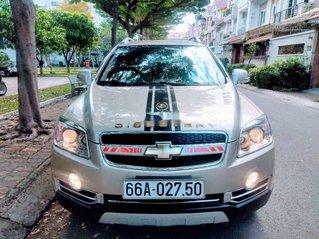 Bán Chevrolet Captiva đời 2011, màu vàng
