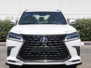 Cần bán Lexus Lx570 Super Sport 2021 xe có sẵn trong kho, màu trắng nội thất da bò